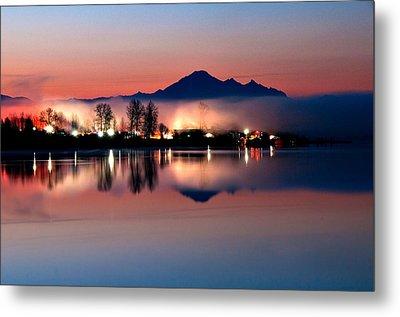 Morning Light And Fog Metal Print by Detlef Klahm