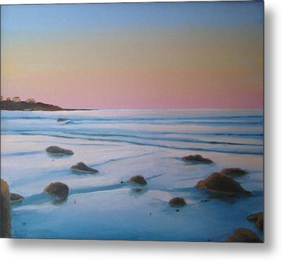 Morning Low Tide Metal Print by Mark Haley