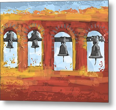 Morning Mission Bells Metal Print