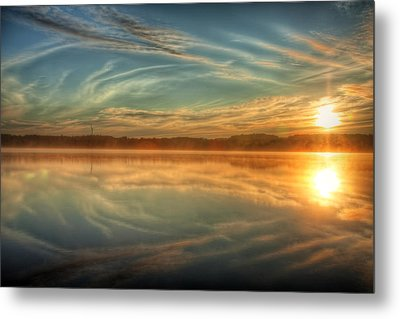 Morning Mist Metal Print by Gary Smith