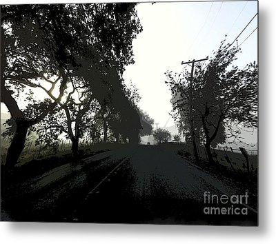 Metal Print featuring the photograph Morning Mist by Leslie Hunziker