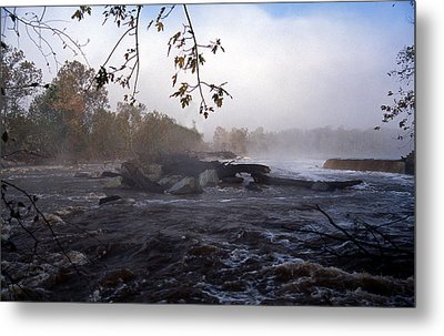 Morning On The Potomac Metal Print by Skip Willits