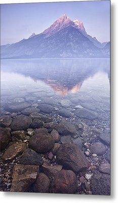 Morning Reflection  Metal Print by Andrew Soundarajan