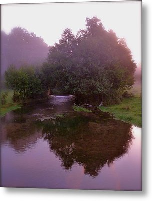 Morning Reflection Metal Print by Karen Grist