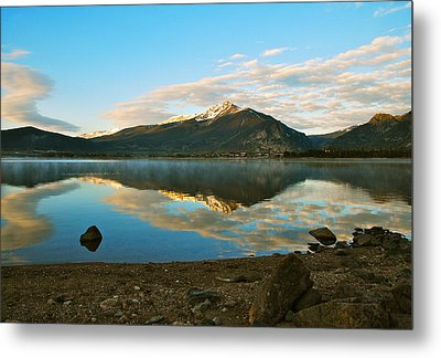 Morning Reflections Metal Print by Bob Berwyn