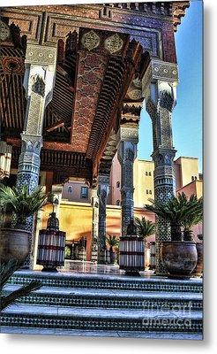 Morocco Architecture II Metal Print