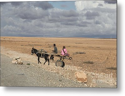 Morocco Transportation Metal Print by Chuck Kuhn