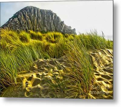 Morro Bay  Metal Print by Gregory Dyer