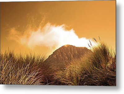 Metal Print featuring the photograph Morro Rock by Michael Rock