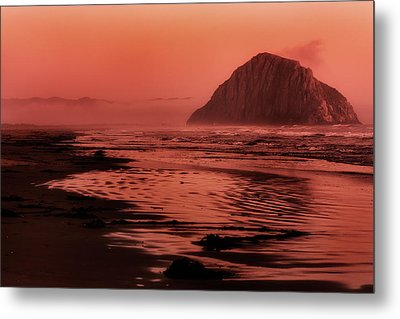 Morro Sunset Metal Print by Matt  Trimble