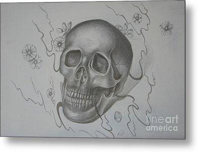 Mortality Metal Print by Iglika Milcheva-Godfrey