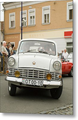 Moscovich Old Car Metal Print by Odon Czintos