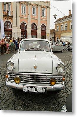 Moscvich Old Car Metal Print by Odon Czintos