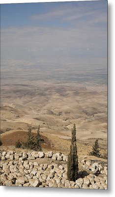 Moses First Saw The The Holy Land Metal Print by Taylor S. Kennedy