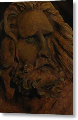 Moses Metal Print by Sherry Robinson