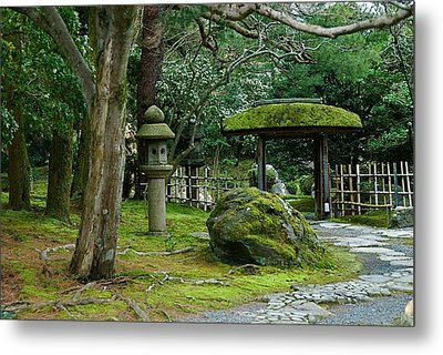 Moss Covered Park Metal Print