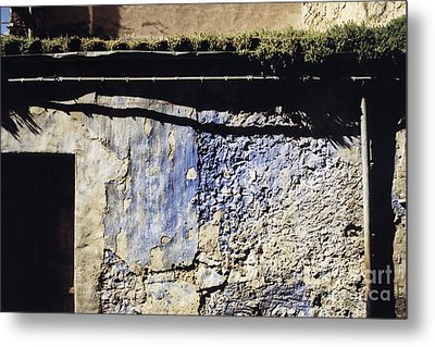 Moss On The Roof Metal Print by Agnieszka Kubica