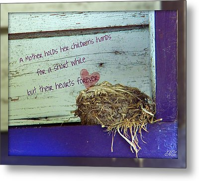 Mother Hold's Metal Print by Michelle Frizzell-Thompson