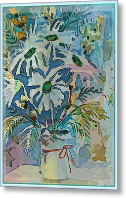 Mothers Daise Metal Print by Mindy Newman