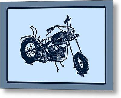 Motorbike 1a Metal Print by Mauro Celotti
