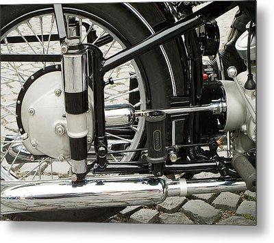 Motorcycle Metal Print by Odon Czintos