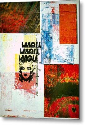 MOU Metal Print by David Deak
