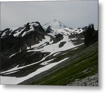Metal Print featuring the photograph Mount Baker by Karen Molenaar Terrell