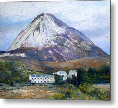 Mount Errigal Co. Donegal Ireland 1997 Metal Print by Enver Larney