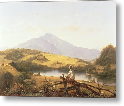 Mount Mansfield Metal Print by Jerome Thompson