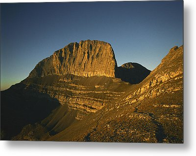 Mount Olympus, Home Of The Gods Metal Print by Martin Gray