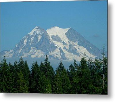 Mount Rainier 5 Metal Print by Kathy Long