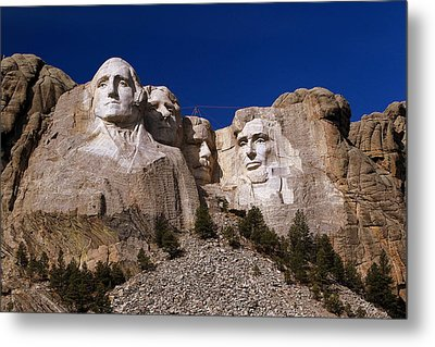 Metal Print featuring the photograph Mount Rushmore National Monument by Paul Svensen