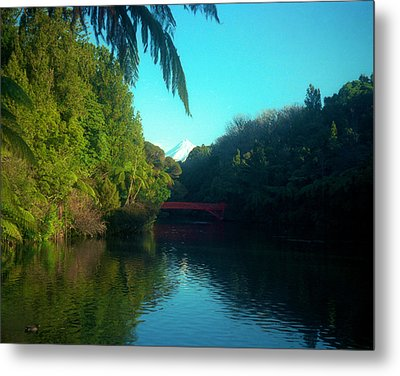 Metal Print featuring the photograph Mount Taranaki Aka Mt Egmont New Zealand by Mark Dodd