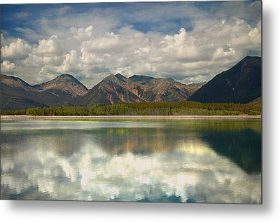 Mountain Lake Metal Print by Tim Reaves