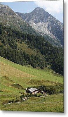 Metal Print featuring the photograph Mountain Landscape by Raffaella Lunelli