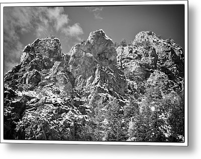 Mountain Peaks Metal Print by Lisa  Spencer