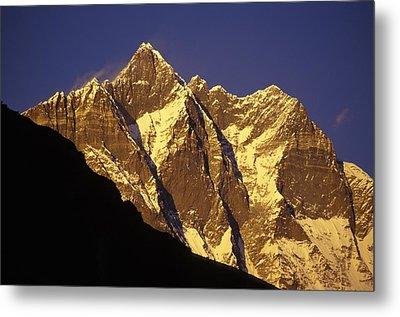 Mountain Peaks Metal Print by Sean White
