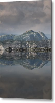 Mountain Reflection Metal Print by Andy Astbury