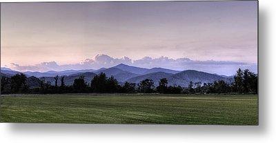 Mountain Sunset - North Carolina Landscape Metal Print