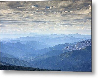 Mountain View, Usa Metal Print by Bob Gibbons
