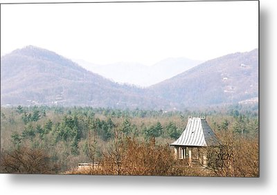 Mountains At Biltmore Metal Print