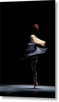 Moved Dance. Metal Print by Raffaella Lunelli