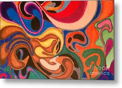 Movement Metal Print by Damion Powell