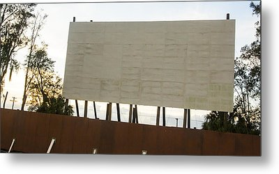 Movies And Popcorn Metal Print by Nicholas Evans
