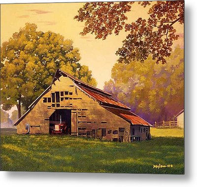 Mr. D's Barn Metal Print
