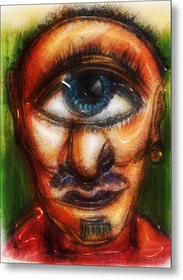 Mr. Myopic Metal Print