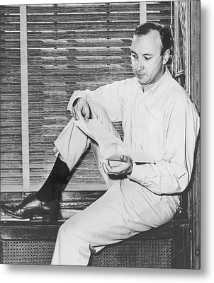 Mr. Neil Simon B. 1927 American Metal Print by Everett
