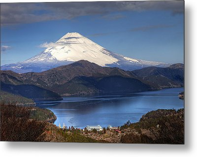 Mt.fuji And Lake Ashinoko-ii Metal Print