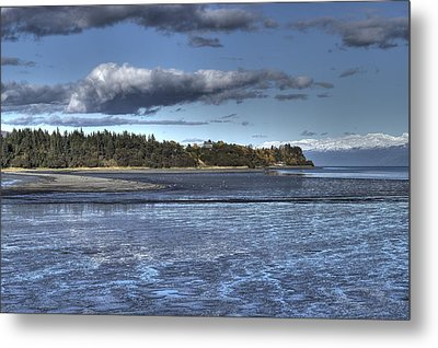 Metal Print featuring the photograph Mud Bay  by Michele Cornelius