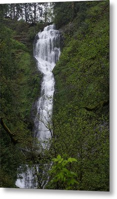 Munson Falls Metal Print by Jerry Cahill
